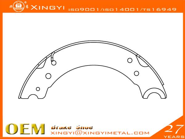 BPW-704001-200 Brake Shoe
