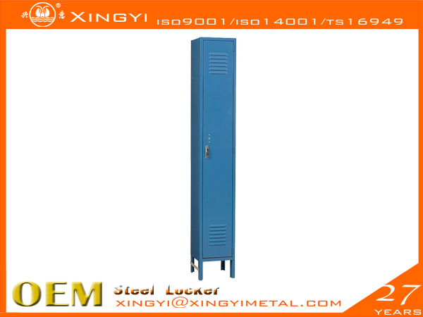 Standard Steel Locker- Single Tier Blue