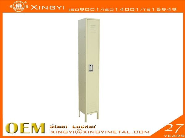 Standard Steel Locker- Single Tier Tan
