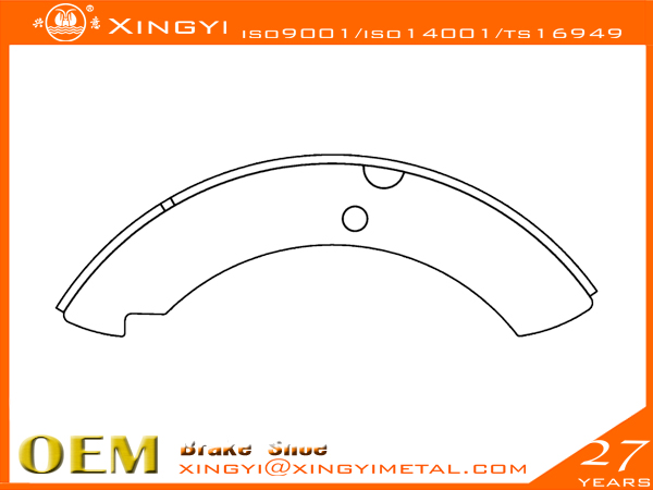 VLV-125(OLD)-GENERATION-L-R Brake Shoe