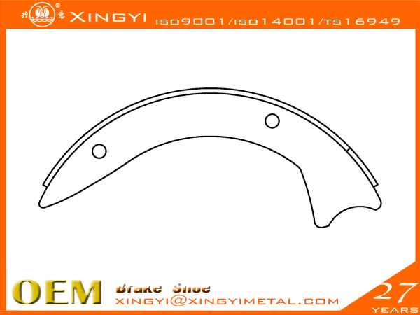 Suzuki-01 Brake Shoe