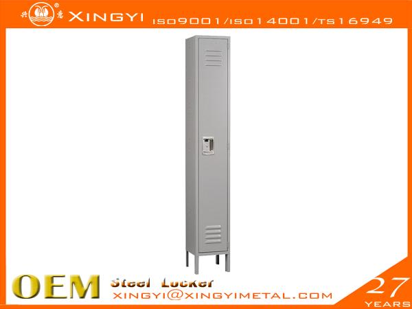 Standard Steel Locker Single Gray