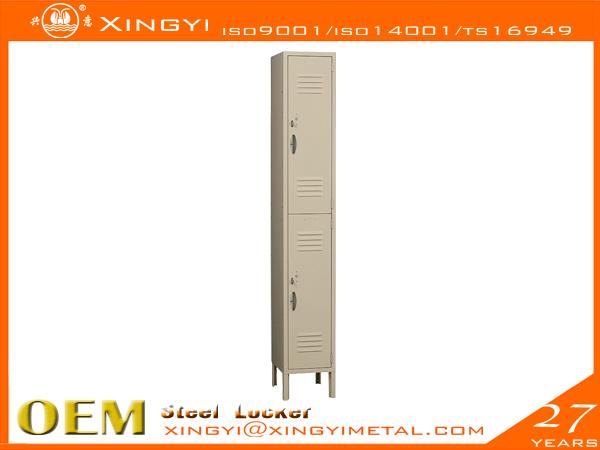 Standard Steel Locker Double Tier Tan