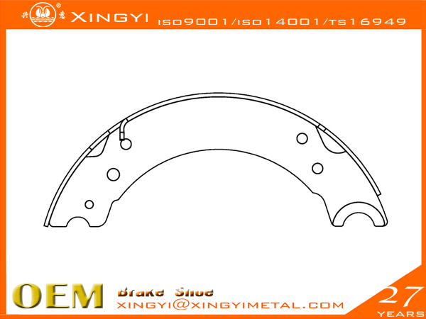 BPW-704001-180 Brake Shoe