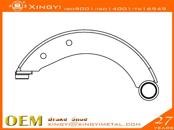 MITSUMISHI-1 Brake Shoe