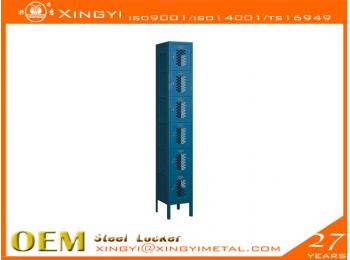 vented locker Box Style Six Tier