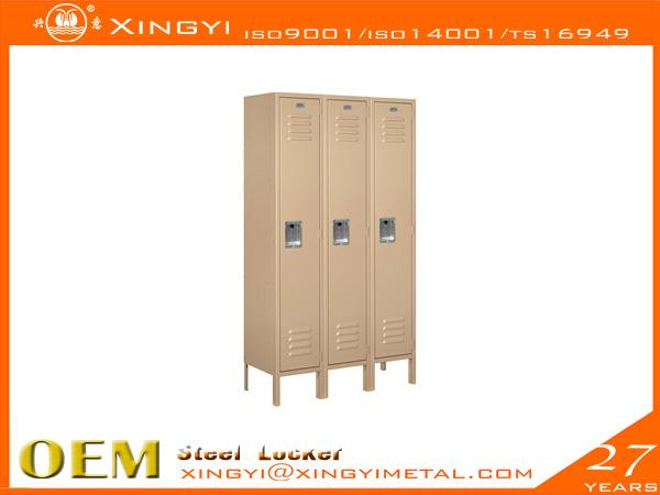 Standard Steel Locker- Single Tier Tan