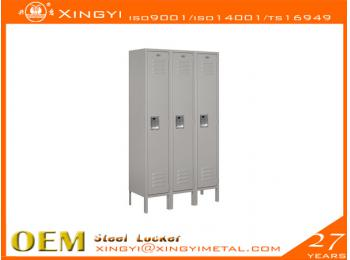 Standard Steel Locker Single Gray